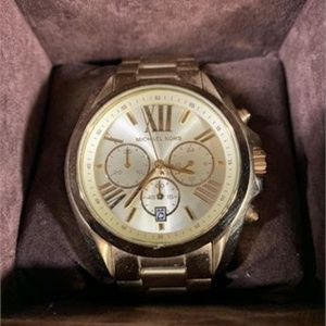 Michael Kors Gold Wrist Watch + Box